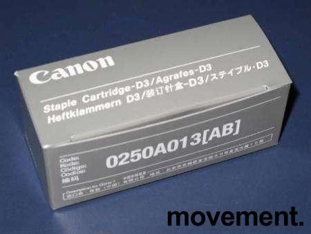 Canon 0250A013AB, Staple cartridge (D3) 2-Pack, ny/ubrukt