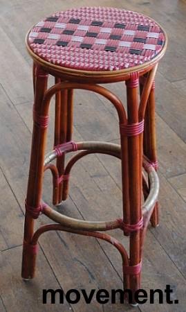 Barkrakk i manila-stil 80cm sittehøyde, pent brukte bilde 2