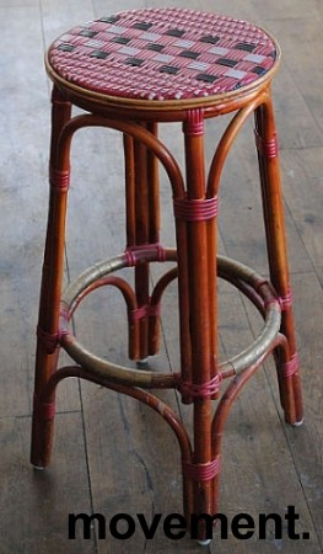 Barkrakk i manila-stil 80cm sittehøyde, pent brukte bilde 1