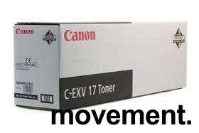 Canon C-EXV 17 sort toner til Canon IRC 4080i/4580i/5185i, ny/ubrukt