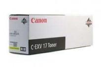 Gul toner Canon C-EXV 17 Yellow til iR C4080i/ C4580i/ C5185i