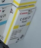 Canon C-EXV 21 gul toner til imageRunner iR C2380/ C2880/ C3080/ C3380/ C3580, NY