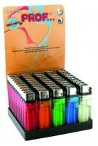 1000 stk kvalitets-lightere i 50pk sjokkselgere, 5 farger