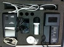 Compuflow Thermo-anemometer Alnor GGA-65P, komplett sett m/skriver etc