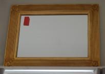 Pent, vegghengt speil 78x59cm, pent brukt