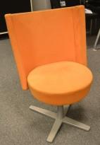 Materia Centrum lounge-stol / svivel-stol / besøksstol / konferansestol, pent brukte.