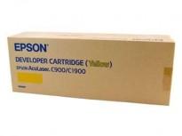 Gul Toner Epson AcuLaser C900/ C1900 NY/ UBRUKT