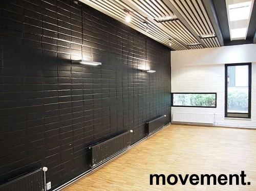 Luxo Vegglampe Free Wall i sort farge, pent brukt bilde 3