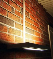 Luxo Vegglampe Free Wall i sort farge, pent brukt