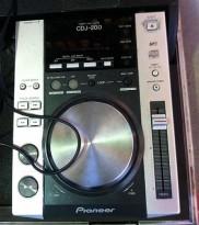 Pioneer CDJ-200 DJ-cdspiller, pent brukt