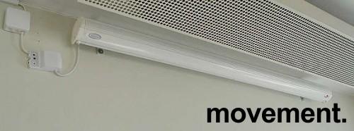 Euroscreen motorisert elektrisk lerret 160cm med automatikk, pent brukte bilde 1