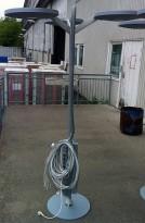 Grenstav komplett med 3 lamper, gigabit nettverk og strøm, pent brukte