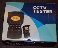 Testenhet for overvåkningskamera med LCD-skjerm, BRUKT