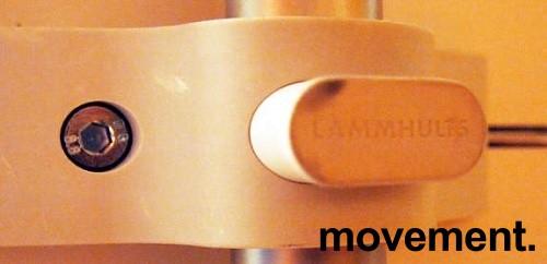 Klappbord i hvitt fra Lammhults, 140x70cm, pent brukte bilde 6