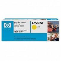 HP toner gul C9702A til HP Color LaserJet 1500 og 2500, NY/UBRUKT