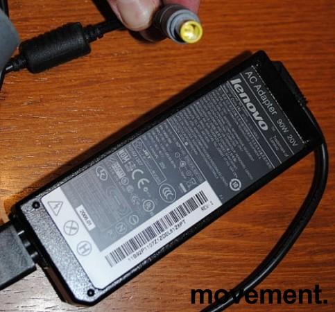 Lader 92P1107 til LENOVO bærbar PC - 90W, original Lenovo, Rund plugg, pent brukte bilde 6
