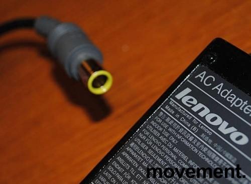 Lader 92P1107 til LENOVO bærbar PC - 90W, original Lenovo, Rund plugg, pent brukte bilde 2
