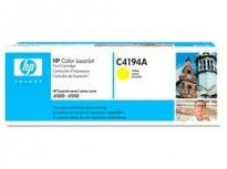 HP original toner C4194A (60A) Gul/Yellow, til HP Color Laserjet 4500/4550, NY/UBRUKT