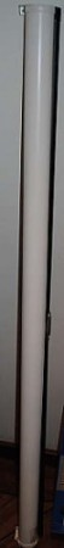 Nedtrekkslerret 155cm bredde fra Draper USA, pent brukt