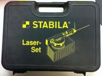 Stabila Laser-set nivelleringslaser, pent brukt i koffert