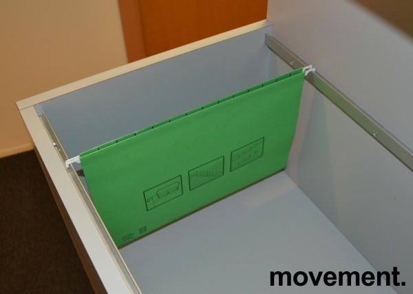 Arkivstasjon / Arkivskap for hengemapper, pent brukt bilde 4