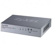 Zyxel 5port switcher med 2xQoS-porter selges samlet, pent brukte