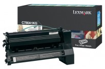 Toner Lexmark Original Sort C780A1KG for C780/C782/X782, NY