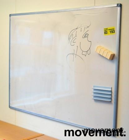 Whiteboard, 90x120cm, vegghengt, pent brukt bilde 1