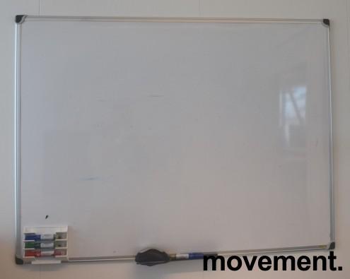 Whiteboard, 90x120cm, vegghengt, pent brukt bilde 4