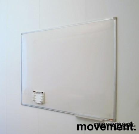 Whiteboard, 90x120cm, vegghengt, pent brukt bilde 3