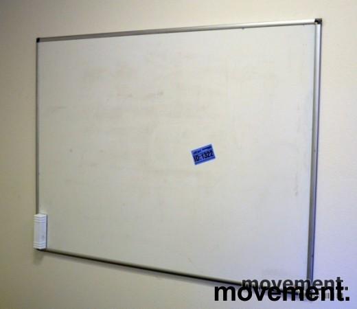 Whiteboard, 90x120cm, vegghengt, pent brukt bilde 2