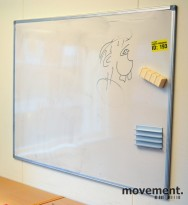 Whiteboard, 90x120cm, vegghengt, pent brukt