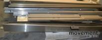 Glassdør med skyvedørsautomatikk 242 x 240 h, pent brukt