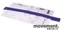 Arksorterer, Sorteringsmappe, Durable 3700, 1-31 og A-Å, pent brukt