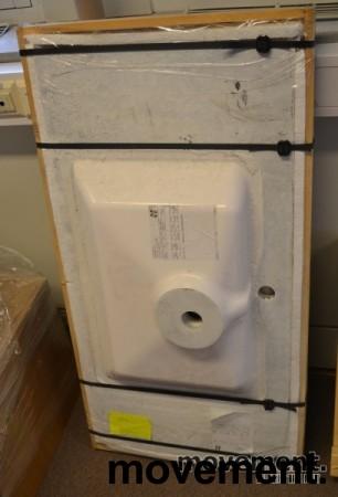 Marbré baderomsvask, helstøpt, 100,5cm bredde, NY bilde 1