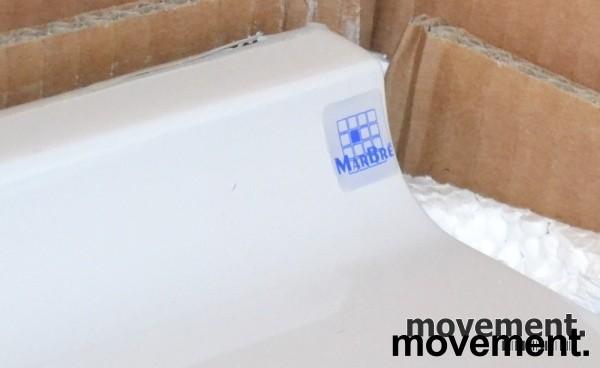 Helstøpt badvask fra HTH, 80cm bredde, NY bilde 3