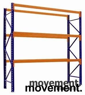 Pallereoler til lager 250cm høyder, NYTT