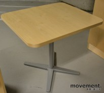 Lekkert bord i bjerk fra Materia, 70x60cm, H=61cm, pent brukt