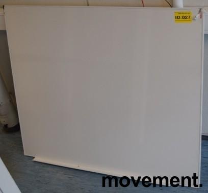 Whiteboard, vegghengt modell 100x120cm, pent brukte bilde 2