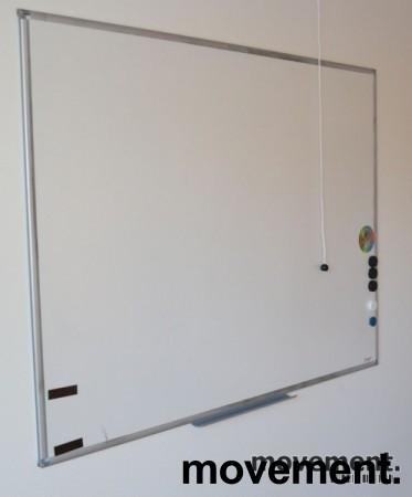 Whiteboard, vegghengt modell 100x120cm, pent brukte bilde 1