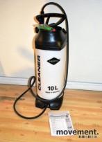 Mesto Profi Plus Cleaner 10 liter lavtrykksprøyte, NY/UBRUKT
