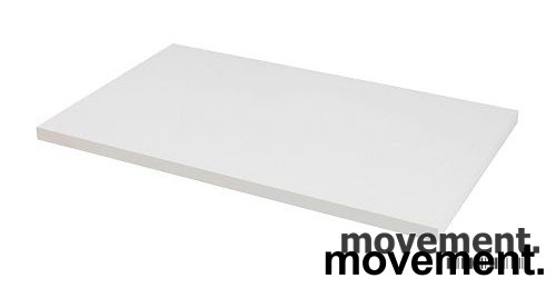 Hvit bordplate til skrivebord 140x80cm, NY / UBRUKT