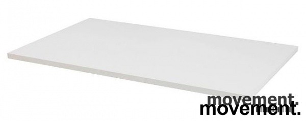 Hvit bordplate til skrivebord 180x80cm, NY/UBRUKT
