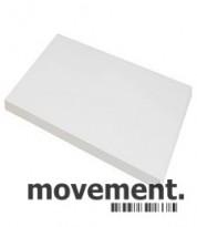 Hvit bordplate til skrivebord 80x80cm, NY/UBRUKT
