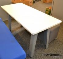 Bord til loungemøbel, Steelcase 140x60cm, 72cm høyde, pent brukt