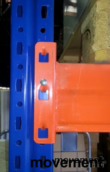 Bærejern til pallereol, 2 pallers bredde / 190cm, NYTT bilde 2