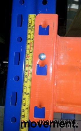 Bærejern til pallereol, 2 pallers bredde / 190cm, NYTT bilde 3