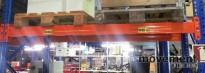 Bærejern til pallereol, 2 pallers bredde / 190cm, NYTT