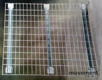 Gitterhylle til pallereol 85x100,5cm, NY