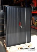 Steelcase sjalusiskap for hengemapper, 119 cm bredde, 169.5 cm høyde, pent brukt